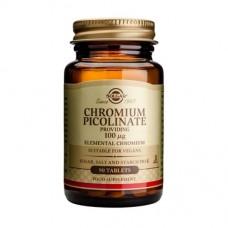 SOLGAR Chromium Picolinate 100μg 90tabs